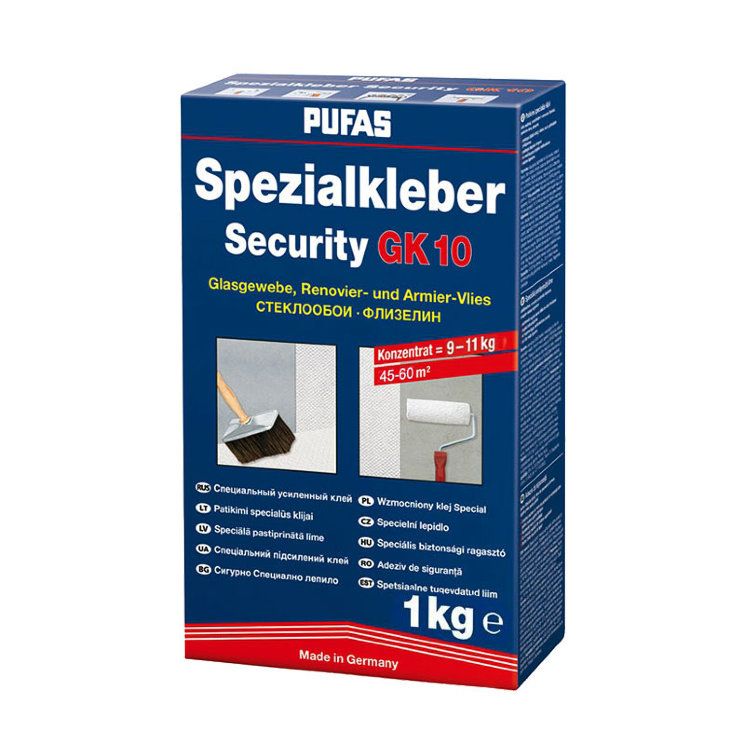Клей Pufas Security GK10 (Germany), 1кг